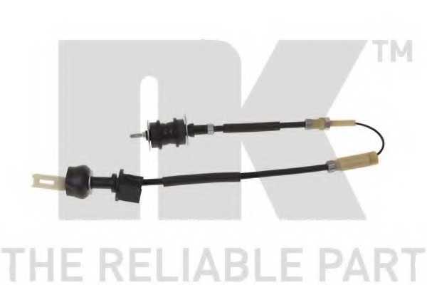 Трос управления сцеплением NK 923739 - изображение
