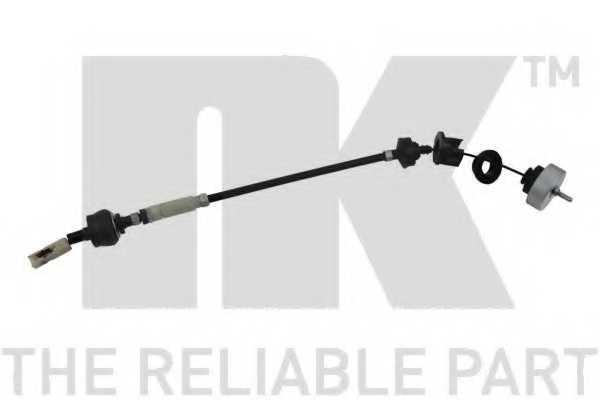 Трос управления сцеплением NK 923744 - изображение