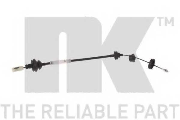 Трос управления сцеплением NK 923745 - изображение