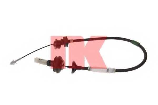 Трос управления сцеплением NK 923746 - изображение