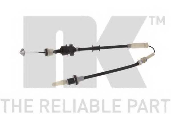 Трос управления сцеплением NK 924101 - изображение