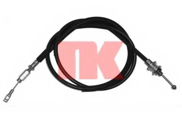 Трос управления сцеплением NK 924759 - изображение
