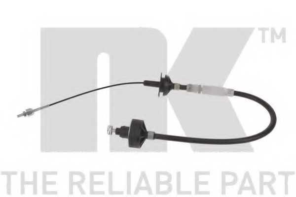 Трос управления сцеплением NK 924761 - изображение