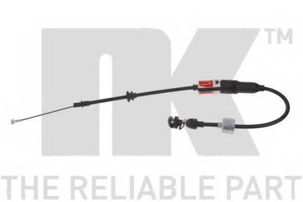 Трос управления сцеплением NK 924762 - изображение