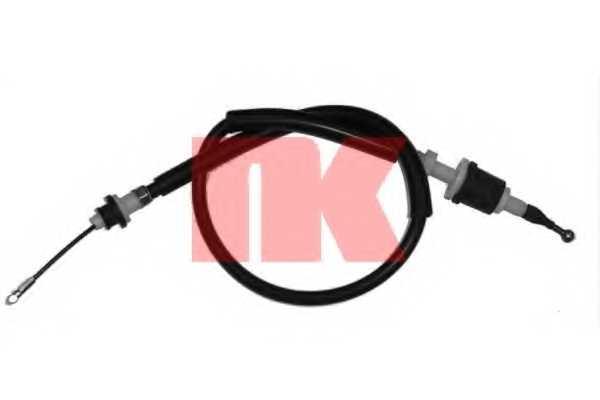Трос управления сцеплением NK 924806 - изображение