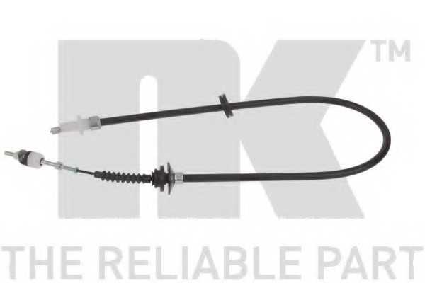 Трос управления сцеплением NK 924810 - изображение