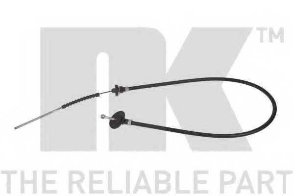Трос управления сцеплением NK 929906 - изображение