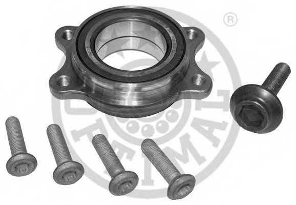 Комплект подшипника ступицы колеса OPTIMAL 100550 - изображение