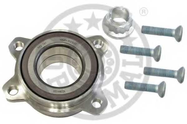 Комплект подшипника ступицы колеса OPTIMAL 100700 - изображение