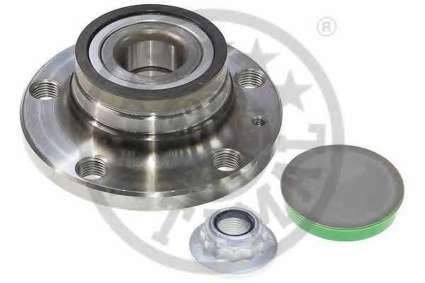 Комплект подшипника ступицы колеса OPTIMAL 102077 - изображение