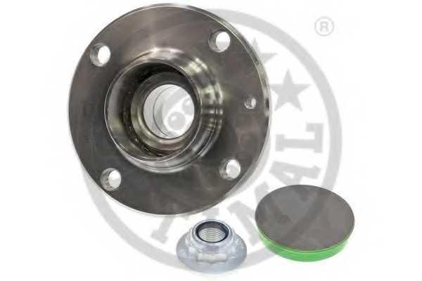 Комплект подшипника ступицы колеса OPTIMAL 102158 - изображение 1