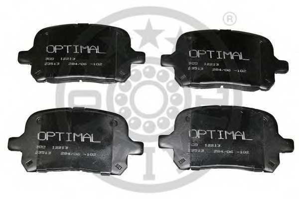 Колодки тормозные дисковые OPTIMAL 12213 - изображение