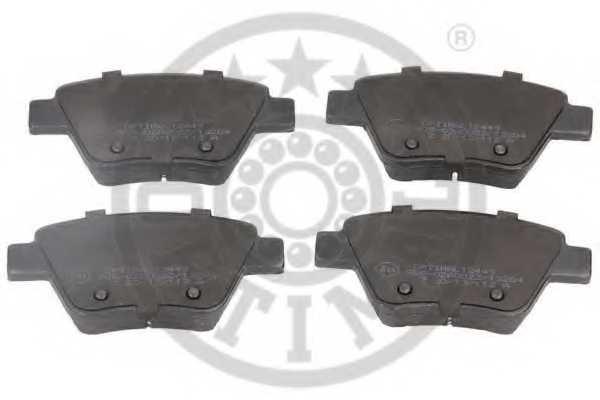 Колодки тормозные дисковые OPTIMAL 12449 - изображение