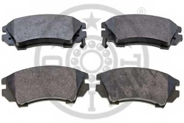 Колодки тормозные дисковые передний для OPEL ASTRA GTC J, INSIGNIA, ZAFIRA(P12) / SAAB 9-5(YS3G) <b>OPTIMAL 12455</b> - изображение 1