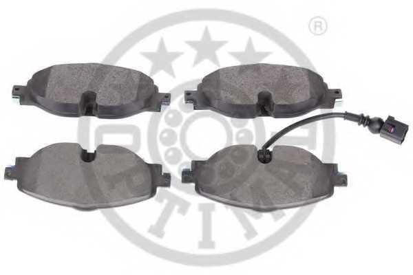 Колодки тормозные дисковые OPTIMAL 12618 - изображение 1
