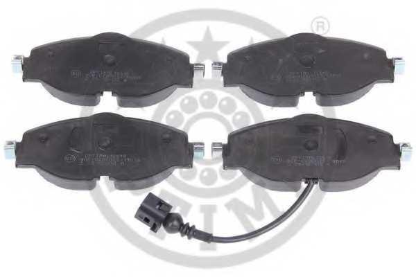 Колодки тормозные дисковые OPTIMAL 12618 - изображение