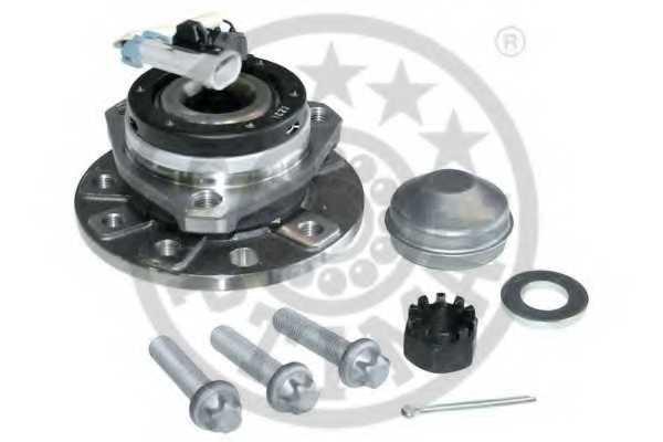 Комплект подшипника ступицы колеса OPTIMAL 201043 - изображение