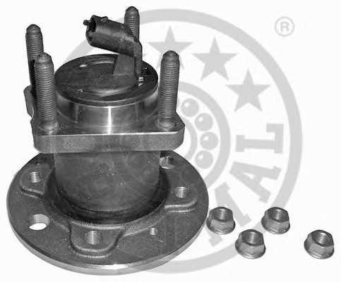 Комплект подшипника ступицы колеса OPTIMAL 202625 - изображение