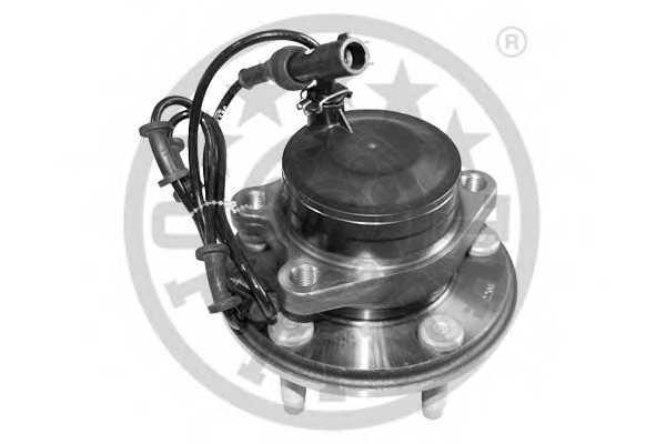 Комплект подшипника ступицы колеса OPTIMAL 301106 - изображение