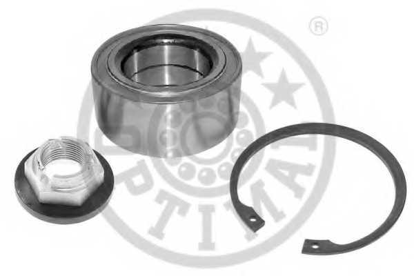 Комплект подшипника ступицы колеса OPTIMAL 301511 - изображение
