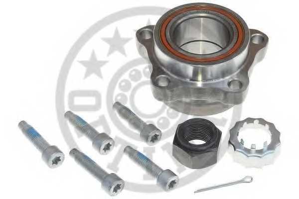 Комплект подшипника ступицы колеса OPTIMAL 301583 - изображение