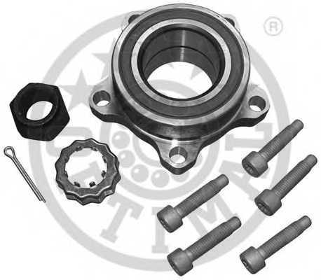 Комплект подшипника ступицы колеса OPTIMAL 301585 - изображение