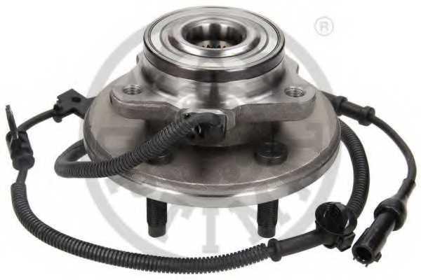 Комплект подшипника ступицы колеса OPTIMAL 301797 - изображение