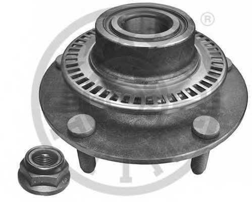 Комплект подшипника ступицы колеса OPTIMAL 302257 - изображение