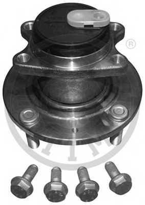 Комплект подшипника ступицы колеса OPTIMAL 402467 - изображение