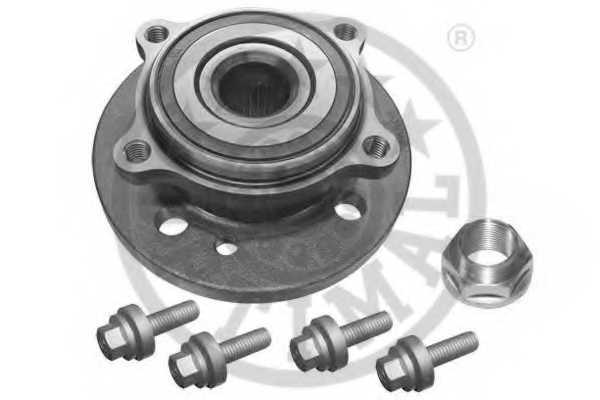 Комплект подшипника ступицы колеса OPTIMAL 501693 - изображение