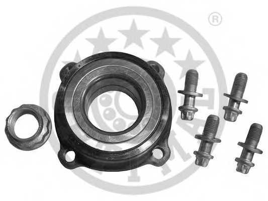 Комплект подшипника ступицы колеса OPTIMAL 502252 - изображение