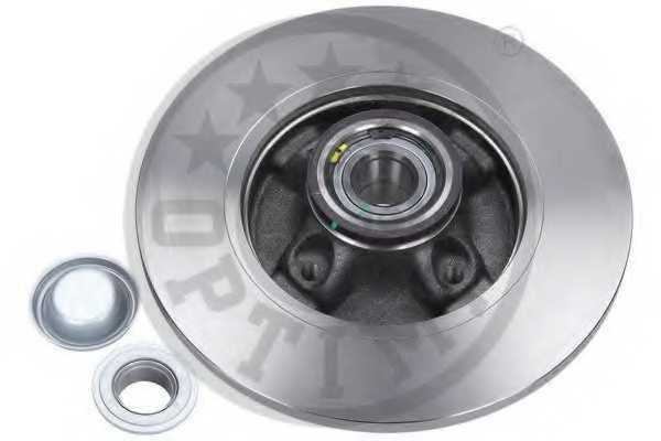 Тормозной диск OPTIMAL 602745BS2 - изображение