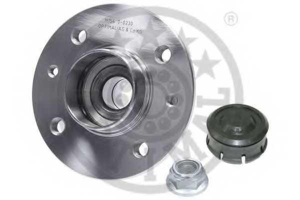 Комплект подшипника ступицы колеса OPTIMAL 702452 - изображение 2