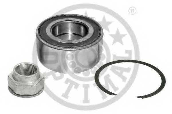 Комплект подшипника ступицы колеса OPTIMAL 801267 - изображение