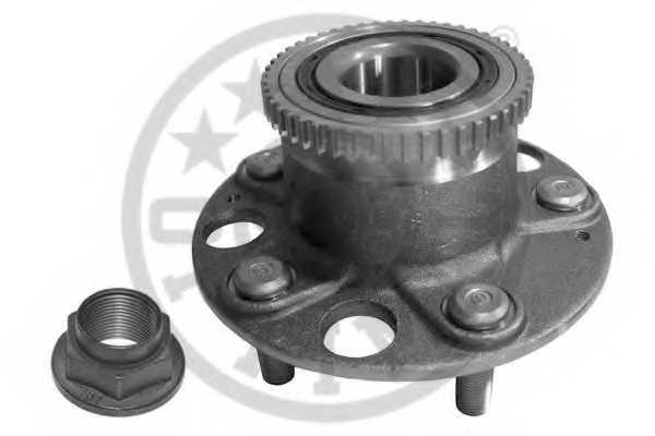 Комплект подшипника ступицы колеса OPTIMAL 912293 - изображение