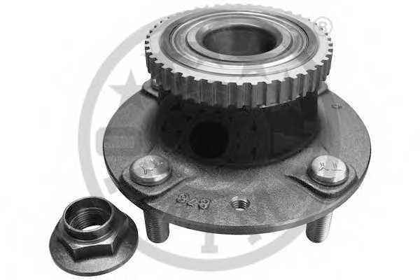 Комплект подшипника ступицы колеса OPTIMAL 922181 - изображение