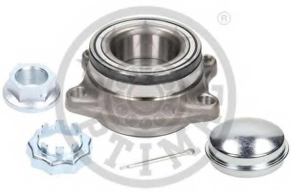 Комплект подшипника ступицы колеса OPTIMAL 952766 - изображение