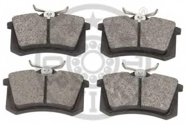 Колодки тормозные дисковые OPTIMAL 20961 / 9548 - изображение 1