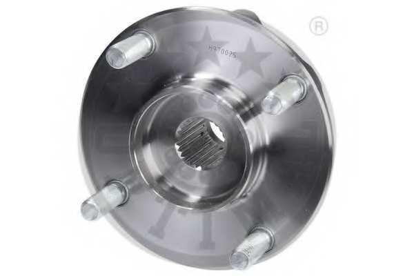 Комплект подшипника ступицы колеса OPTIMAL 961207 - изображение 3