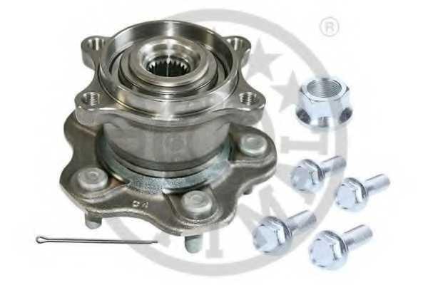 Комплект подшипника ступицы колеса OPTIMAL 962558 - изображение
