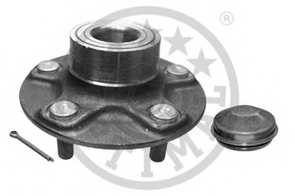 Комплект подшипника ступицы колеса OPTIMAL 962853 - изображение