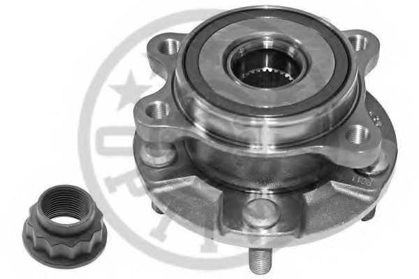 Комплект подшипника ступицы колеса OPTIMAL 981704 - изображение