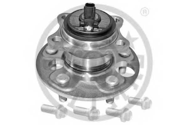 Комплект подшипника ступицы колеса OPTIMAL 982727 - изображение