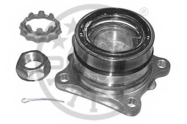 Комплект подшипника ступицы колеса OPTIMAL 982762 - изображение