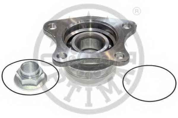 Комплект подшипника ступицы колеса OPTIMAL 982948 - изображение 1