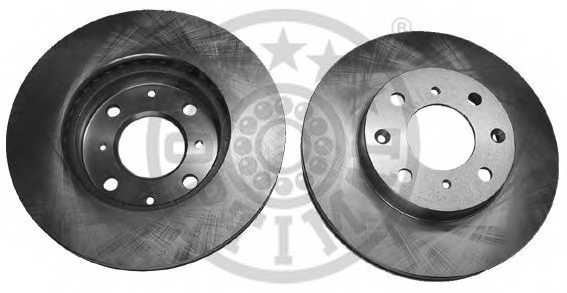 Тормозной диск OPTIMAL BS-1080 - изображение