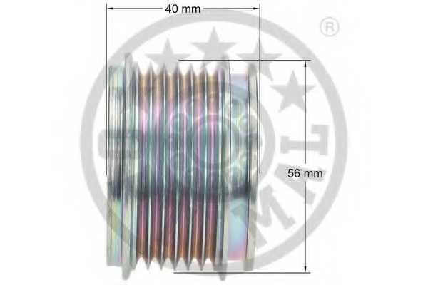 Механизм свободного хода генератора OPTIMAL F5-1044 - изображение 2
