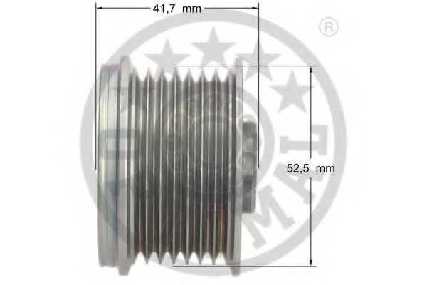 Механизм свободного хода генератора OPTIMAL F5-1074 - изображение 2