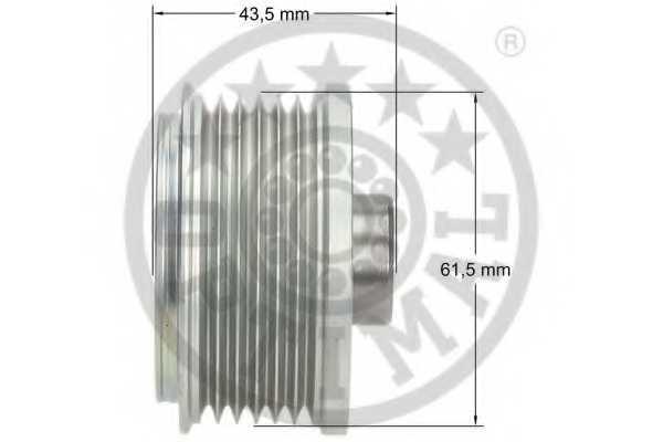 Механизм свободного хода генератора OPTIMAL F5-1123 - изображение 2