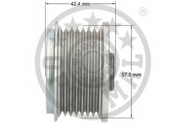 Механизм свободного хода генератора OPTIMAL F5-1152 - изображение 2